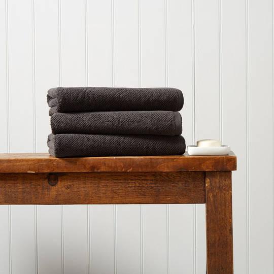 Seneca - Christy Brixton Towels, Hand Towels, Bath Mats -  Liquorice