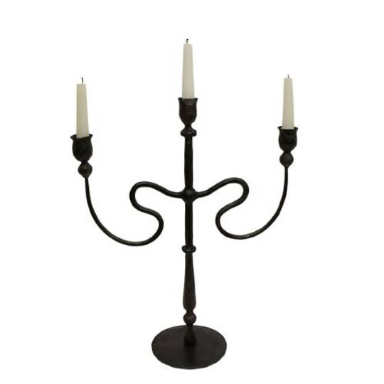 French Country - Raine Iron Candleabra