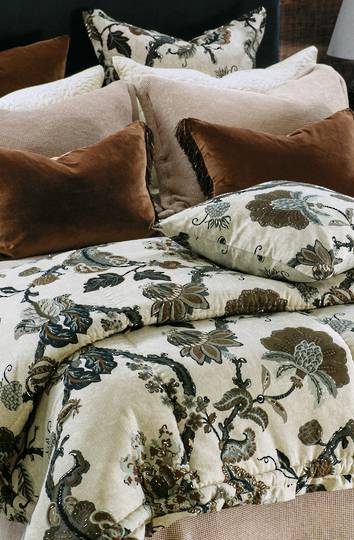 Bianca Lorenne - Capriccio Comforter / Pillowcase/Eurocase/Cushion - Natural