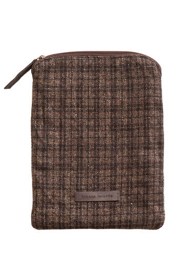 Bianca Lorenne - Tablet Cover - Carob Check