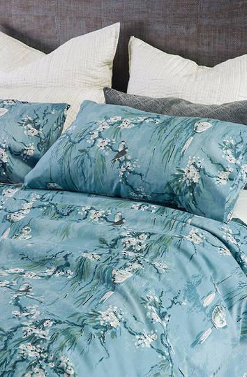 Bianca Lorenne - Chouchin  Duvet Cover Set -  Cerulean Blue