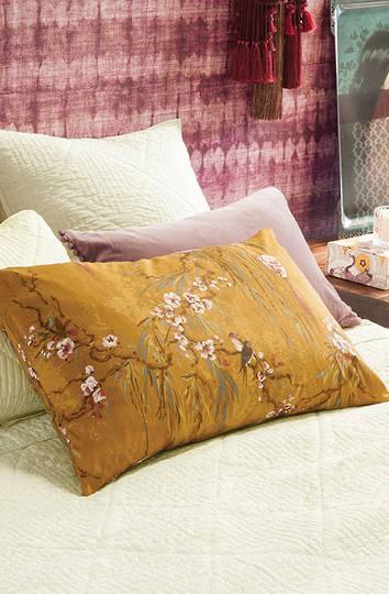 Bianca Lorenne - Chouchin  - Pillowcase -  Ochre