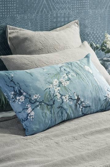 Bianca Lorenne - Chouchin  Pillowcase -  Cerulean Blue