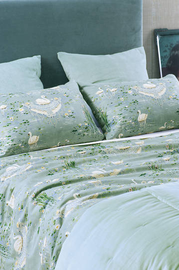 Bianca Lorenne - Cigna - Duck Egg - Duvet Cover Set