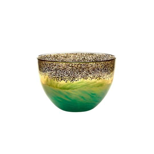 Importico - Voyage Maison Glass - Demeter Bowl - Gold