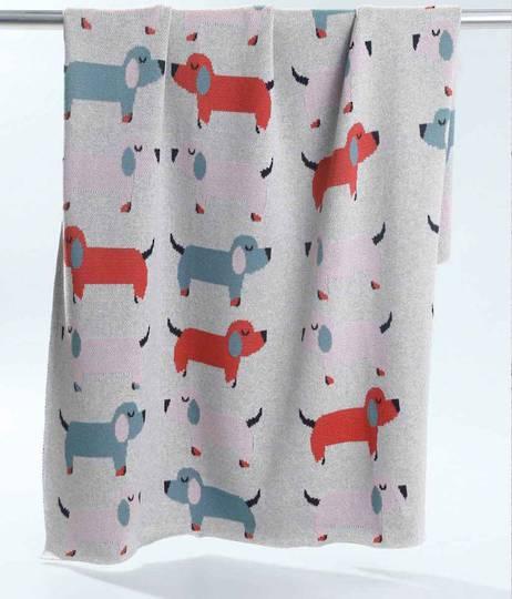 MM Linen - Doggies Baby Blanket
