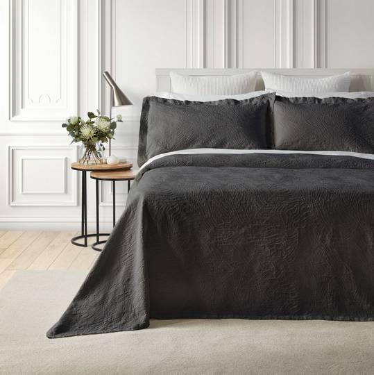 Baksana - Dunes Bedspread Set - Ash