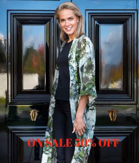 MM Linen - Long Kimono - Florian - ON SALE