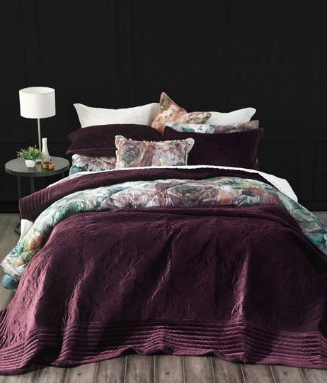 MM Linen - Florentina Bedspread Set - Port