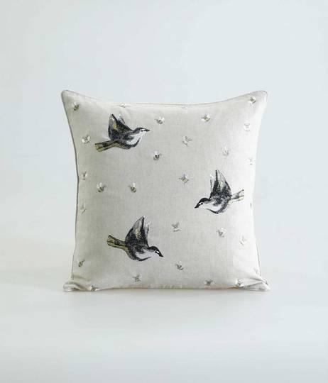 MM Linen - Flyaway Cushion - Natural
