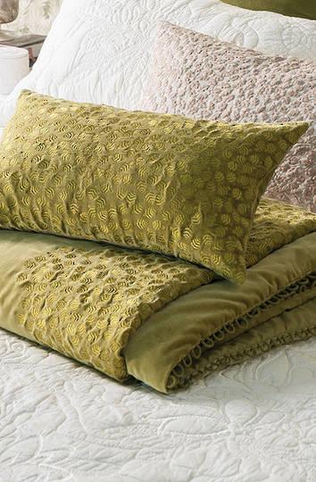 Bianca Lorenne - Folia Cushion - Chartreuse
