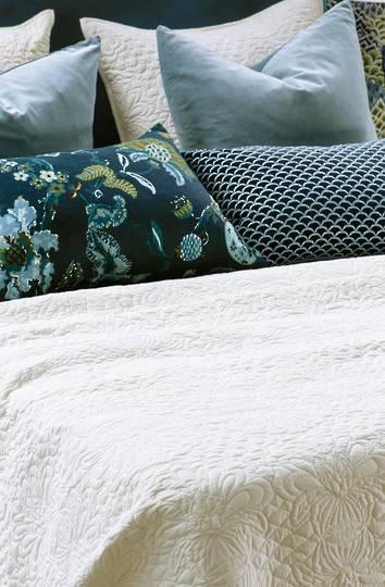 Bianca Lorenne - Fontanella Bedspread / Pillowcase/Eurocase - Ivory