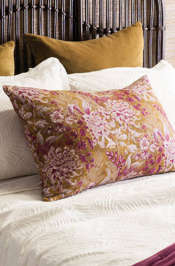 Bianca Lorenne - Giardino Antique Gold Pillowcase/Eurocase