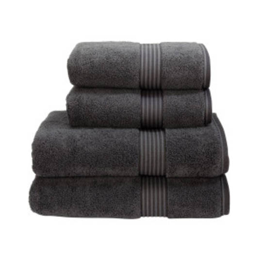 Seneca - Christy Supreme Hygro Towels, Hand Towels & Face Cloths - Graphite