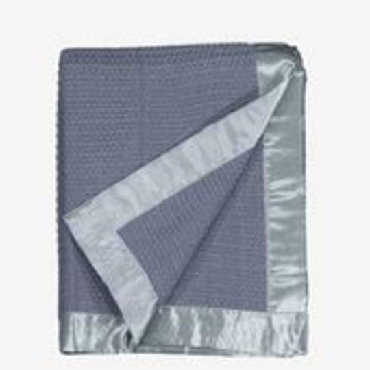 Swanndri  - Thermalweave Cot  Blanket - Grey