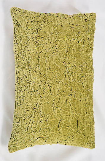 Bianca Lorenne - Grinza Chartreuse Cushion