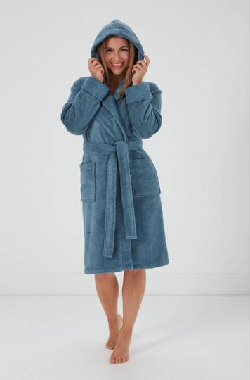 Baksana - Halle  Robe - Blue and Pink