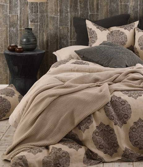 MM Linen - Henna Duvet Set