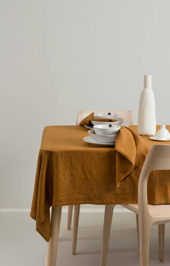 Importico - Himla Napkins/Table Runner/Tablecloths - Amber