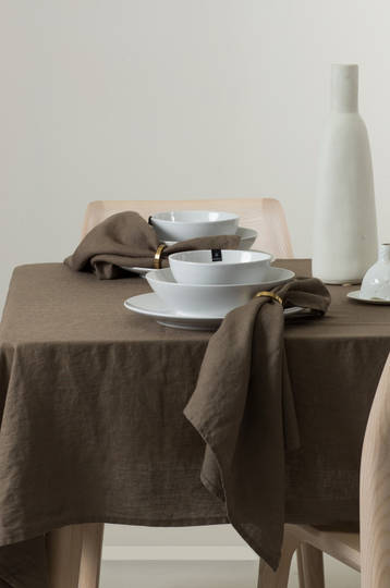 Importico - Himla Napkins/Table Runner/Tablecloths - Clay