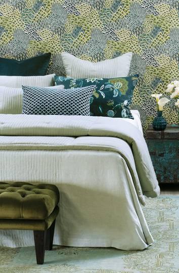 Bianca Lorenne - Kaiyu Bedspread /Pillowcase/Eurocase - Seafoam