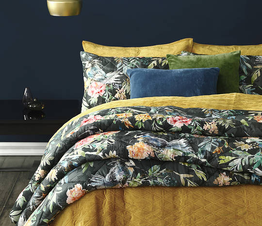 MM Linen  - Kiku Comforter Set - Large Comforter - ON SALE