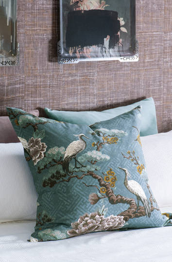 Bianca Lorenne - Kuren Pillowcase/Eurocase/Cushion - Ocean