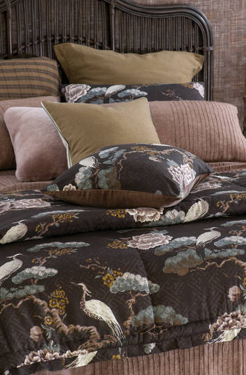 Bianca Lorenne - Kuren Comforter / Pillowcase/Eurocase/Cushion - Walnut