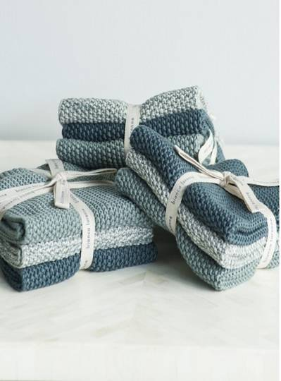 Bianca Lorenne - Lavette  Dish Cloth Set - Teal