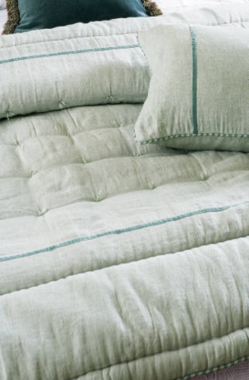 Bianca Lorenne - Luchesi Pale Ocean Comforter / Eurocase and Cushion
