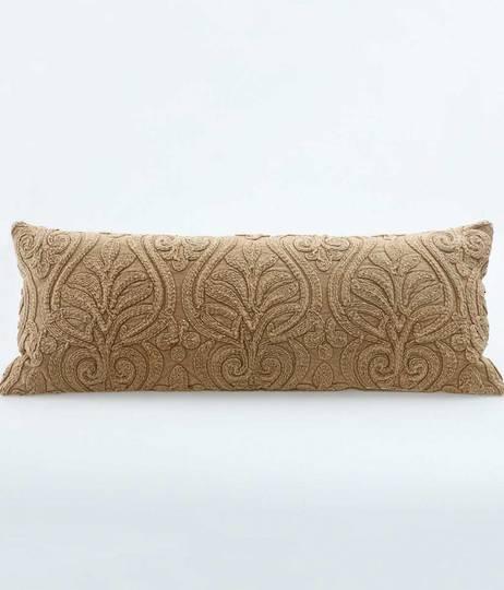 MM Linen - Malta Cushion - Chestnut