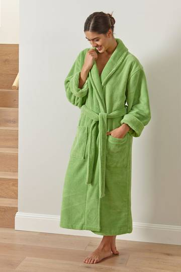 Baksana - Manor Bathrobe - Gumleaf