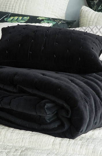 Bianca Lorenne - Mica Cushion - Black