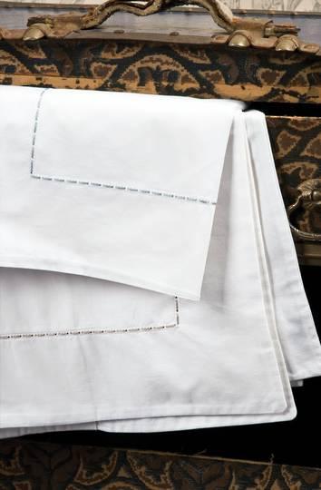 Bianca Lorenne - Milano White Sheets / Pillowcases/Eurocases