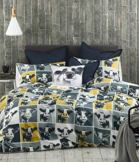 MM Linen - Moo Duvet Set