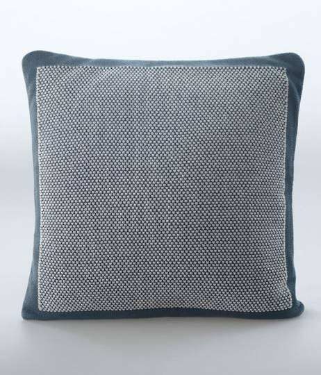 MM Linen - Moss Cushion - Bluestone