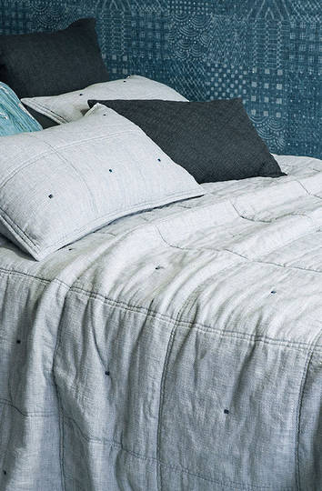 Bianca Lorenne - Noma Marine Bedspread / Pillowcase