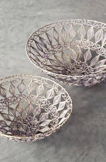 Bianca Lorenne - Panier Pink Gold Basket Set