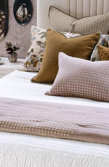 Bianca Lorenne - Petalo - Comforter / Pillowcase/Eurocase/Cushion - Dusky Orchid
