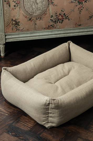 Bianca Lorenne - Natural Linen Pet Bed