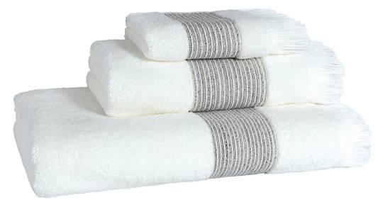 Importico - Devilla - Prato Ivory Towels