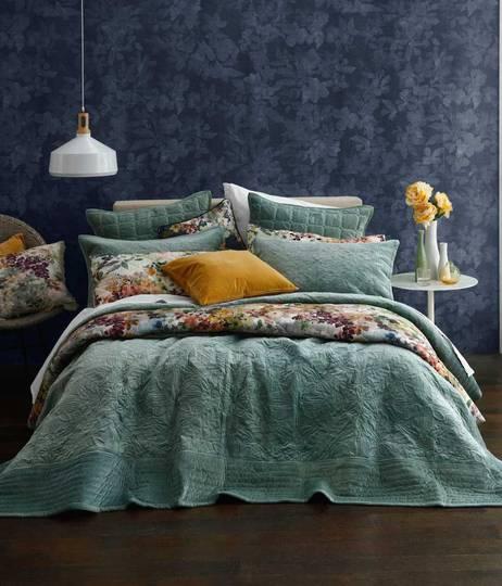 MM Linen - Remy Bedspread Set -  Laurel