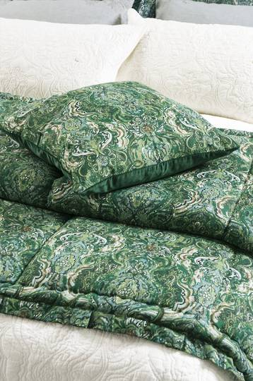 Bianca Lorenne- Riad Emerald - Comforter/Pillowcase/Eurocase/Cushion