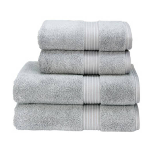 Seneca - Christy Supreme Hygro Towels, Hand Towels & Face Cloths - Silver