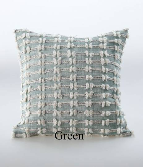 MM Linen - Sintra Cushion - Green