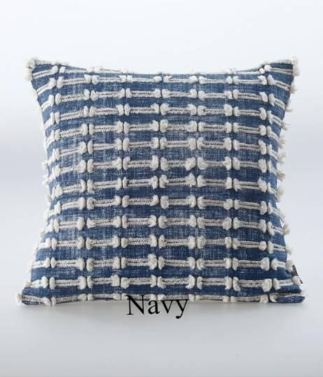 MM Linen - Sintra Cushion - Navy