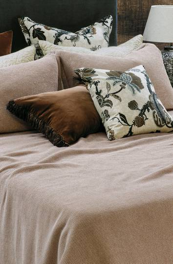 Bianca Lorenne - Sottobosco Bedspread / Pillowcase/Eurocase - Copper