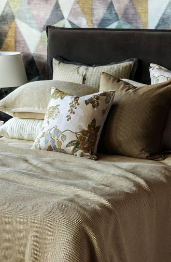 Bianca Lorenne - Sottobosco Bedspread / Pillowcases / Eurocases  Sold separately - Light Hazel