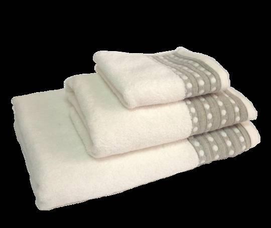 Importico - Devilla - Spot Ivory Towels