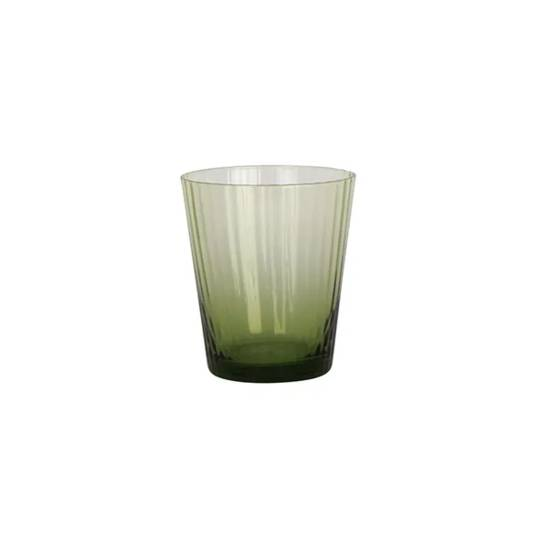 French Country - Talbot Tumbler Glass - Green